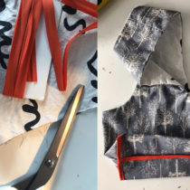 Sewing a Wristlet Project Bag | EvinOK