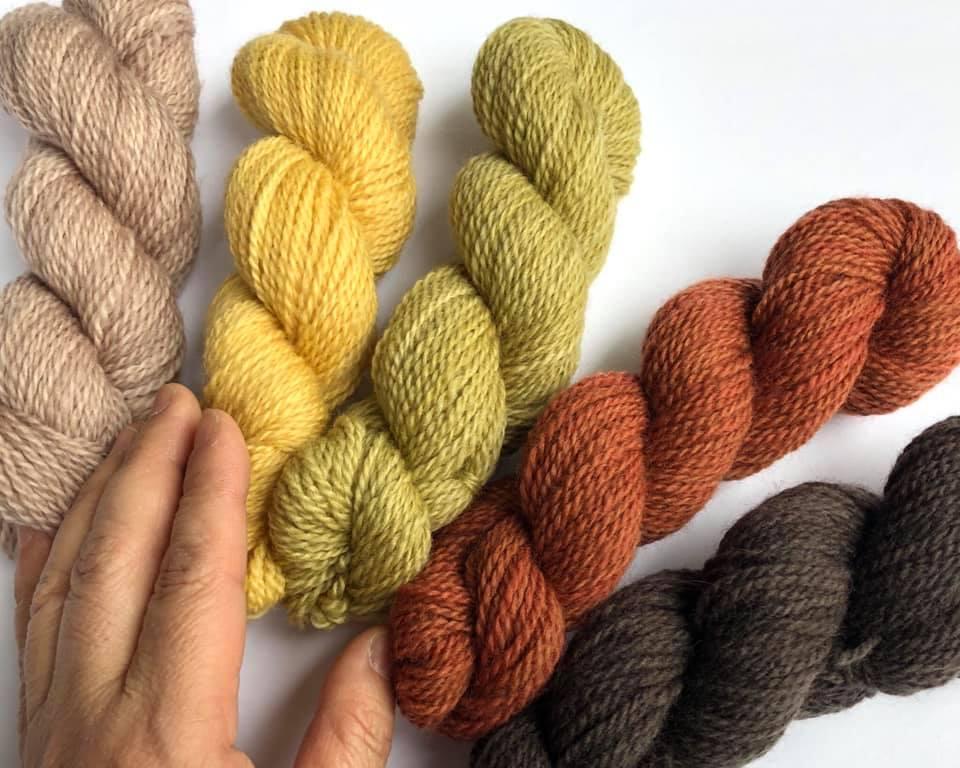Interview with Yoriko Oki of Fibre Art Studio, yarn hand-dyer | EvinOK
