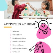 Fun Activities at Home with Kids | EvinOK