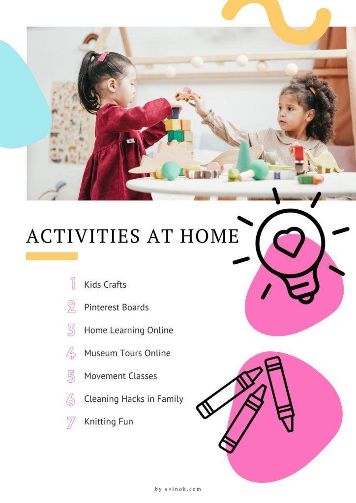 Fun Activities at Home with Kids | EvinOK