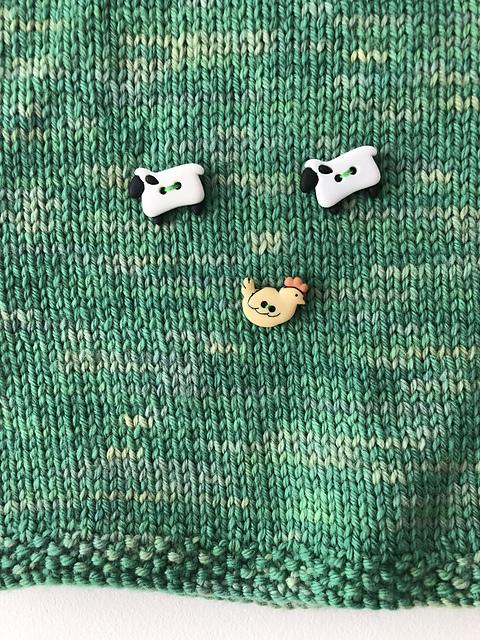 Baby Knitting Patterns | Field & Sky Pullover | EvinOK