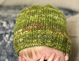 Baby Knits | Barra Marled Hat | Country Living | EvinOK