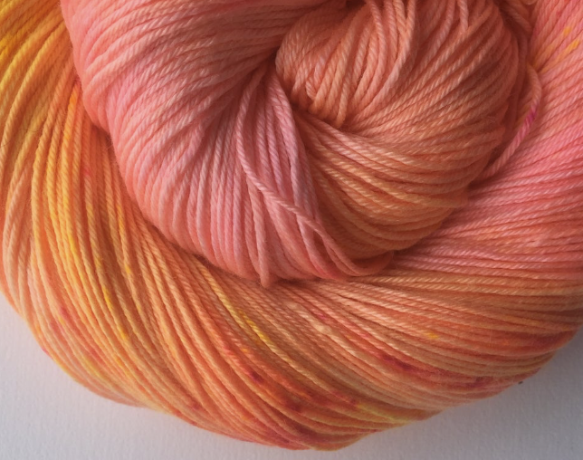 Flamingo Moon Colorway from Eve Chambers Textiles | EvinOK
