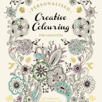 Personalised Colouring Book for Adults - In The Book