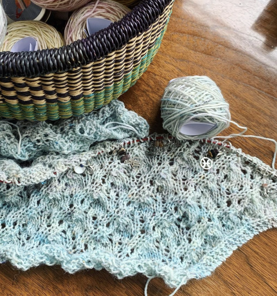 Jonna is knitting the Cassiopeia KAL | EvinOK